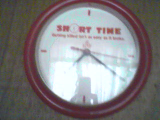 Time - Photo of my wall clock