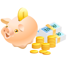 piggy bank - Piggy bank - for children to keep their money