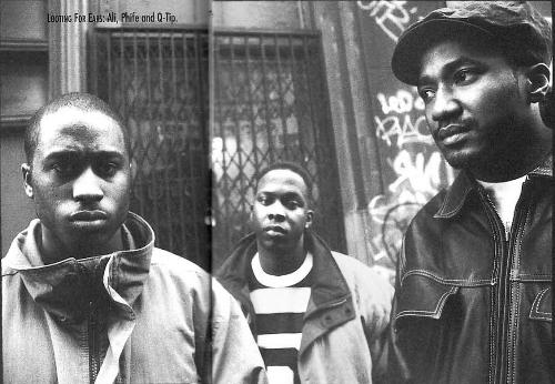 Tribe Called Quest - Just a photo of the group a Tribe Called Quest
