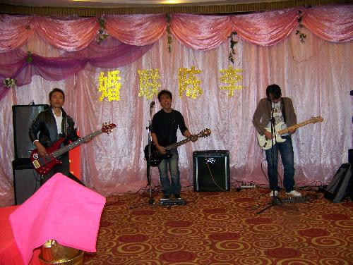 band in the wedding - it's my band