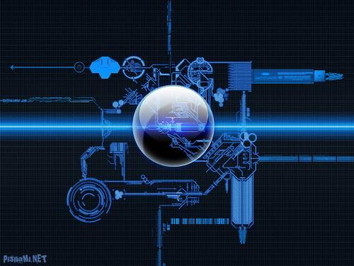 wallpaper technology. tech and space wallpaper