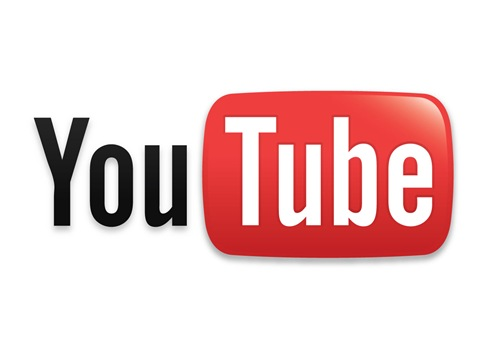 YouTube - The picture shows the famous logo for youtube. It is a website where you can find all possible videos.
