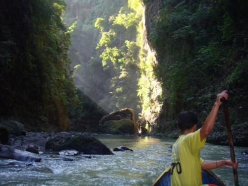 Bumbungan River - on the way to Pagsanjan Falls