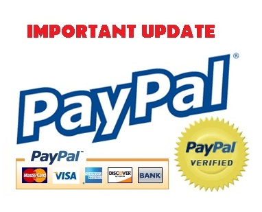 paypal  - The picture shows the symbol for the PayPal. It has an important update for its Indian users as they can't have personal payments these days.