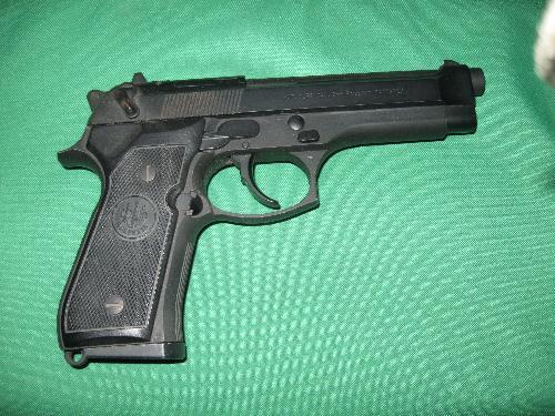 gun - beretta 357 gun
