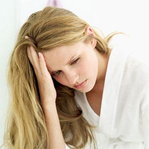 Depression - Depression of a woman