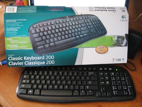 Logitech - New keyboard.