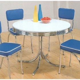 50's 50 style table - Icecream soda's anyone? lol