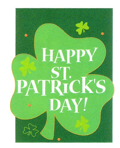 St. Patrick's Day...St. Patrick's Day...St. Patric - St. Patrick's Day...