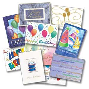 Greeting cards - Various Greeting Cards.