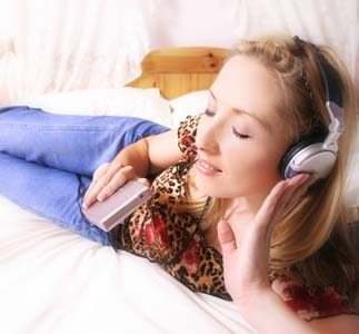 Listening To Music - Music is just pleasing to our ears...
