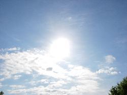 Blue Sky of God's Beauty - God's awesomeness