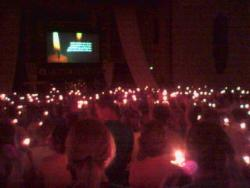 God's Beauty - I went to a concert and everyone was singing and holding candles up in the air. It was pretty amazing to see.