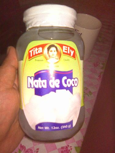Nata De Coco - Nata De Coco is my favorite dessert.