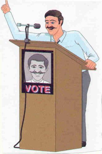 Politician - A politican who has kept his promises