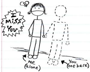 ldr - Long distance relationship