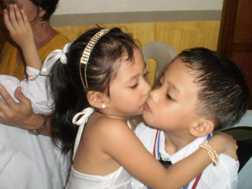 teaching your kids to love each other - my two precious angels