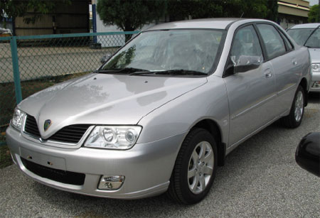 Proton Waja - One of the few cars I have driven before.
