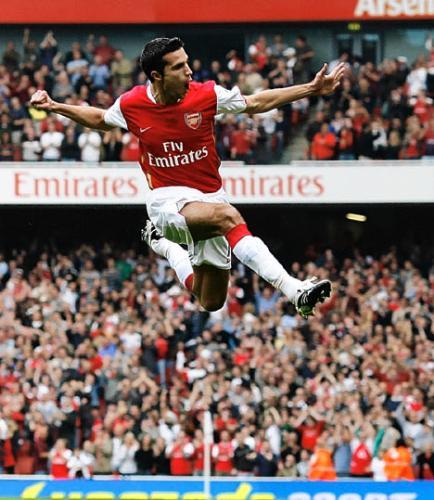 Van Persie - Arsenal and Netherland striker Van Persie...
