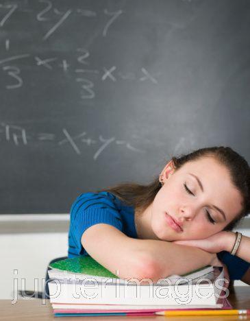 Sleeping at classroom!! - sleeping at class room or at work.