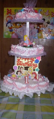 birthday cake - 1st birthday cake