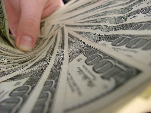 money - money in hand