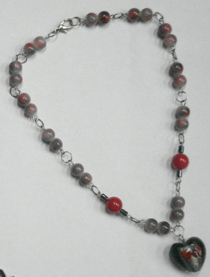 My necklace - This is one of the jewelries that I designed. I have a variety of fashion accessory collection that I enjoy wearing. I also profit from them.