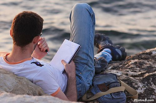 Man Writing - Man Writing by Photos8.com on Flickr. Via Creative Commons