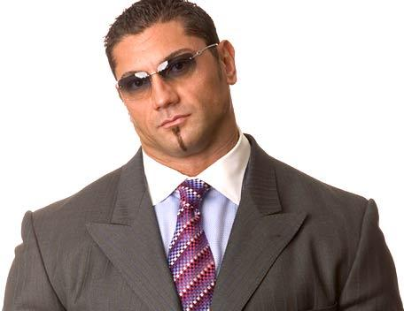 Batista - A picture of the most entertaining superstar in WWE, Batista. It will be a shame when he is gone.