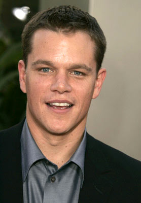 matt damon - matt is really dude...