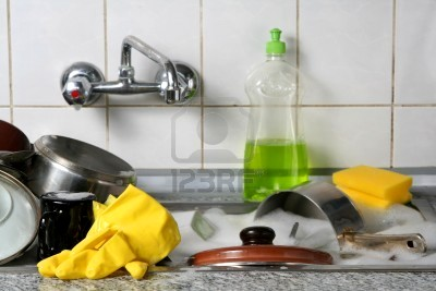 Dishes - Dirty Kitchen Utensils!