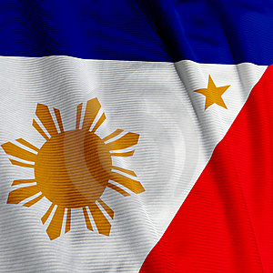 Flag of the Philippines - A brave country it seems