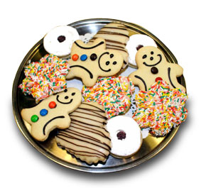 Cookies - Cookies and Biscuits with different chapes