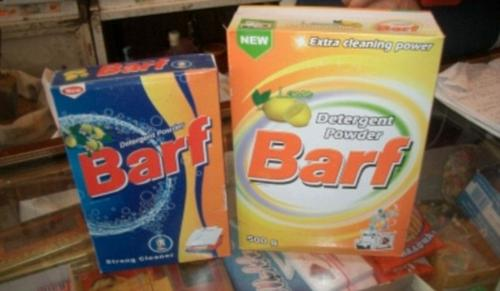 Barf - Would you eat a chocolate bar called Plopp or use washing powder called Barf?