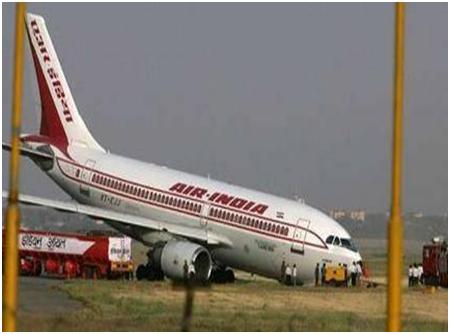 Air India Plane crash - Image of Air India Plane crash which has happened in Mangalore.