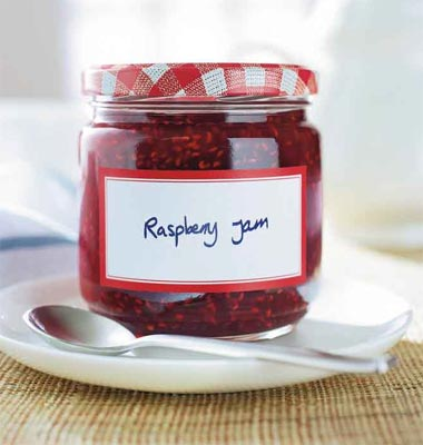 Raspberry jam - A spoonful of jam makes the tablets go down!!