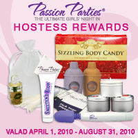 Hostess awards - Every hostess get's free and discounted goodies. this is just some of what passion parties past hostess have gotten.