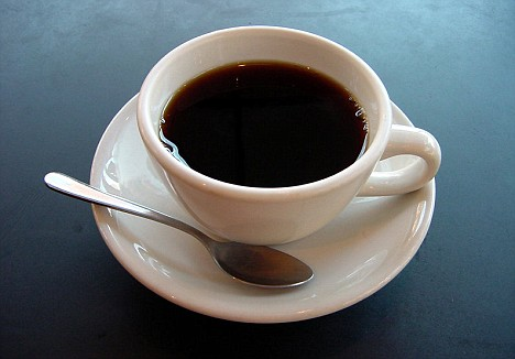black coffee - i love coffe in the morning, is it bad?