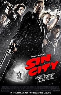 sin movie poster - A movie poster featuring the star-studded cast of, Sin City