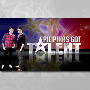 Pilipinas Got Talen Show - Photo of Pilipinas Got Talent together with Luis and Billy.