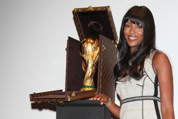 Louis Vuitton World Cup Case - Luxury handbag and luggage maker, Louis Vuitton, has designed and crafted the trophy case for the cup.