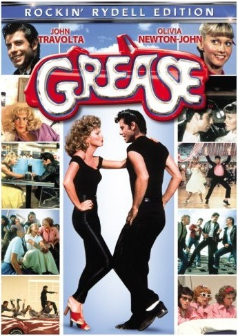 grease - An old movie poster for the classic movie-musical Grease
