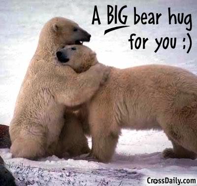 Hug - Hug each other often