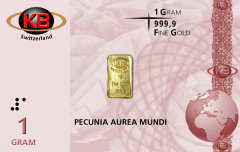 Gold in plastic cards - Is this a new currency? 1 g pure gold on a plastic card, certifying that it is real 99,99% gold?