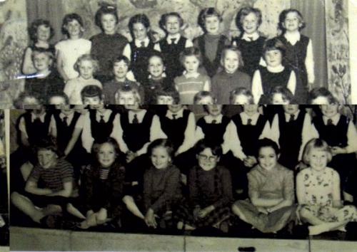 Class of 62 - My old school photo that I found on the internet