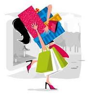 shopping  - i love shopping during weekends and i love to go with my friends and i spend more on accessories and clothes.