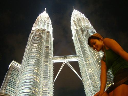 The petronas Tower - This was last January of 2010