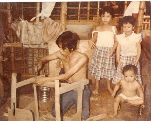 My industrious dad - This was my dad