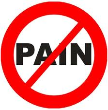 Little pain is good made your stronger. - However extreme pain or bad pain disturb daily life.