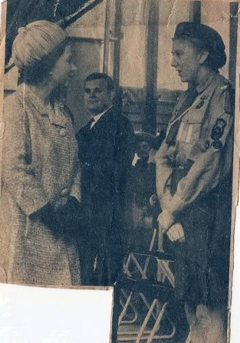 Me and the Queen - When I was presented to the Queen , aged 15